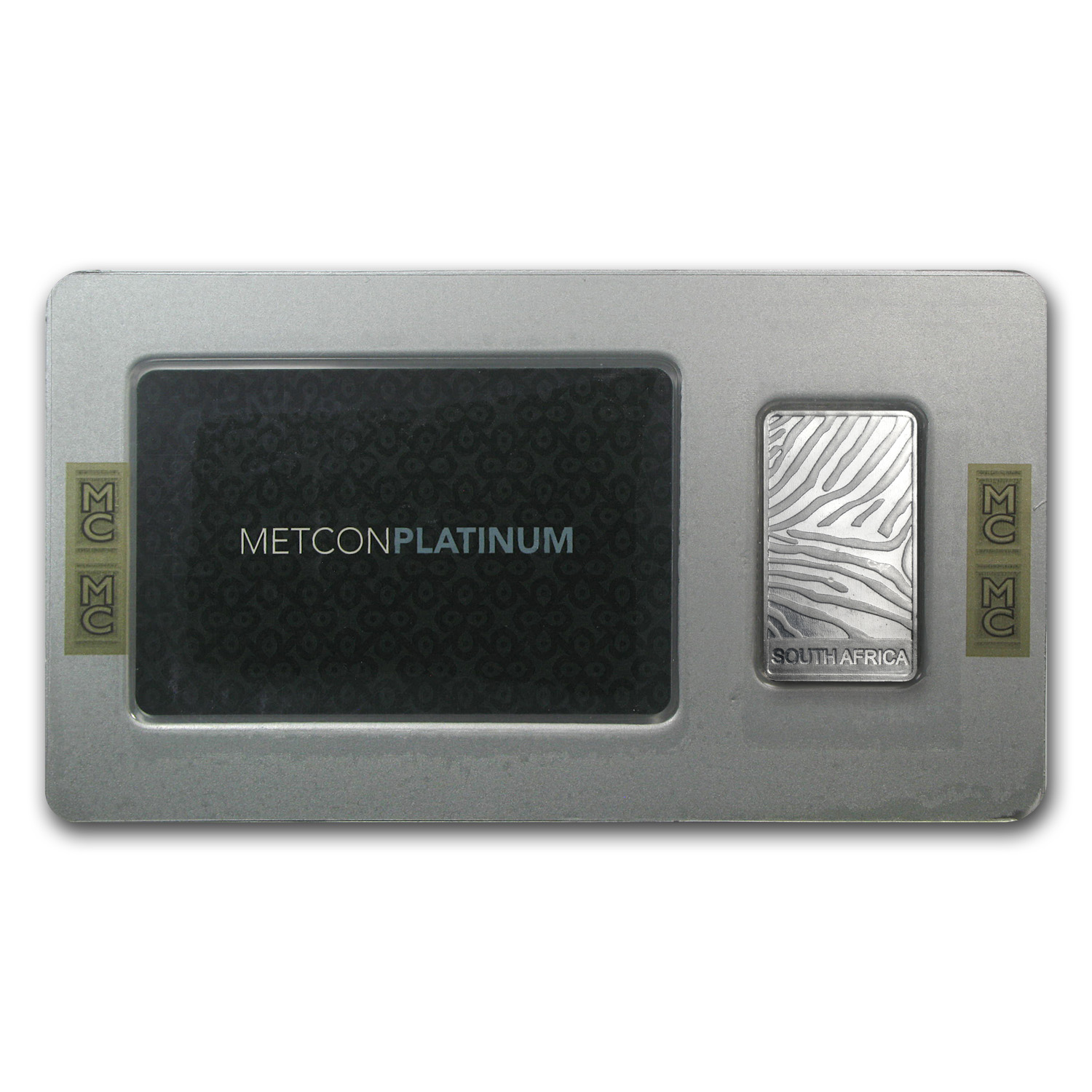 1 oz Platinum Bar - South African MC (.9995 Fine)
